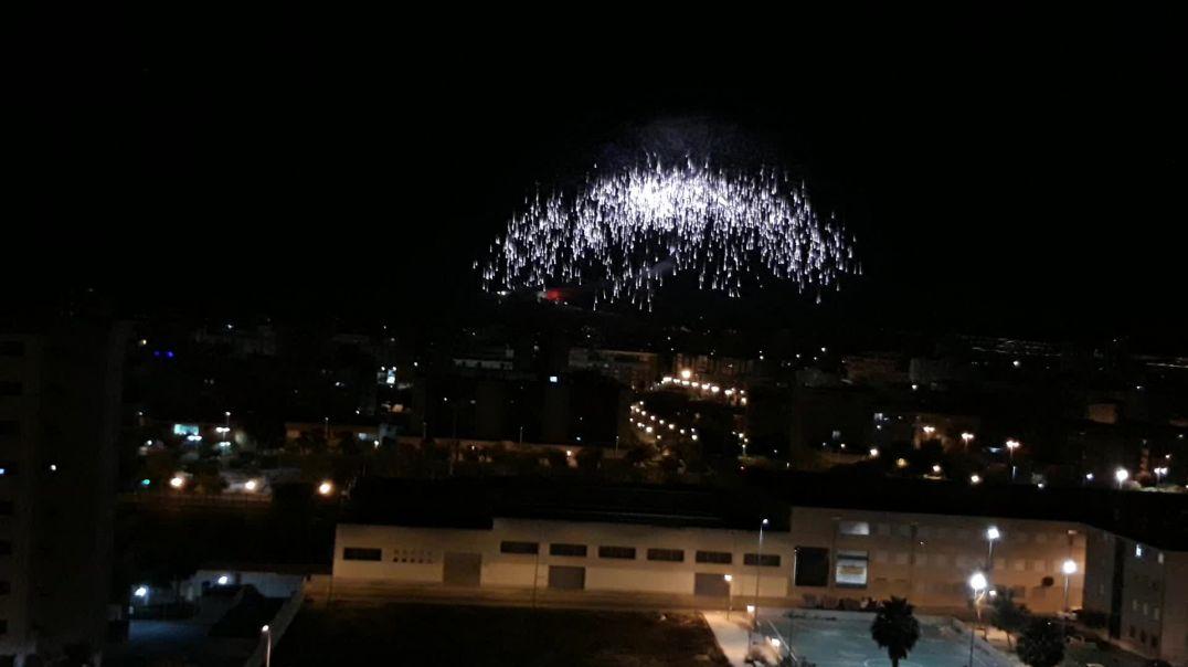 Palmera 2020 desde el castillo de Santa Bárbara, Alicante