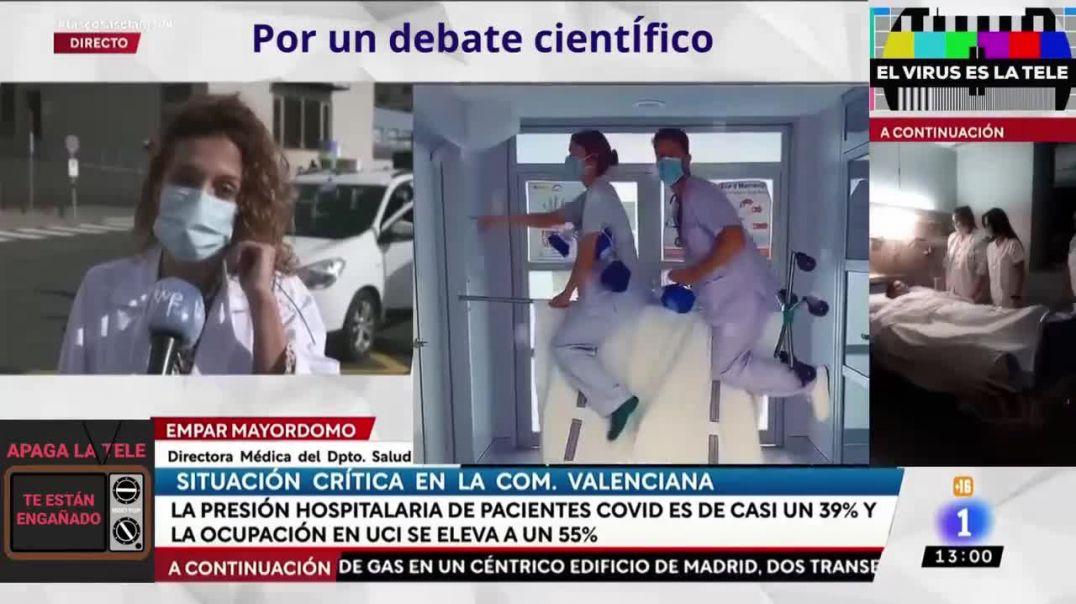 IMPRESIONANTE COLAPSO HOSPITALARIO ANUNCIADO EN RTVE - QUE SE HAGA VIRAL