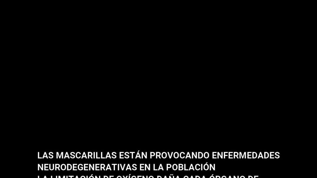LAS MASCARILLAS ESTÁN PROVOCANDO EL AUMENTO DE ENFERMEDADES