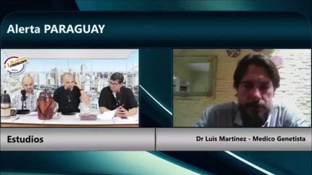 Exposición sobre las vacunas y la pandemia por parte del Dr. LUIS MARCELO MARTINEZ