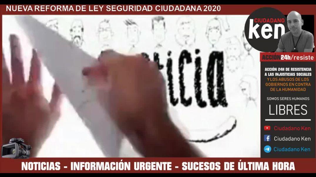 LEY-SEGURIDAD - LEY CIUDADANA EN ESPAÑA