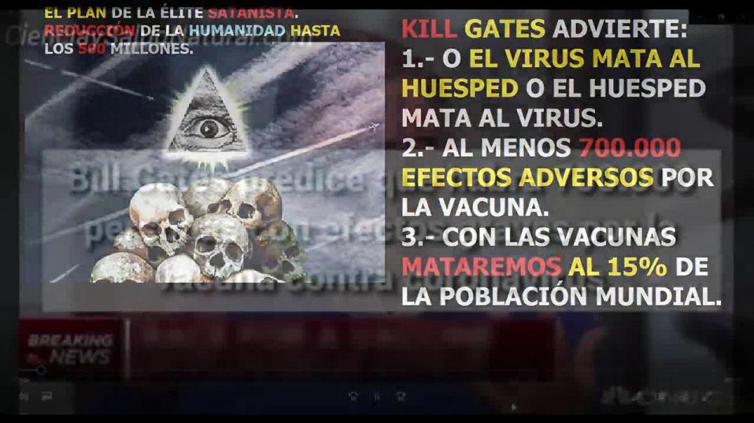 Kill Gates advierte o el virus mata al huesped 0