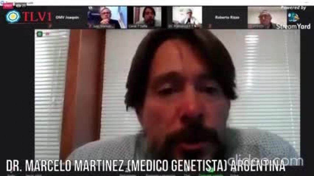 INGENIERO MOLECULAR Y MÉDICO GENETISTA DR. MARCELO MARTÍNEZ.