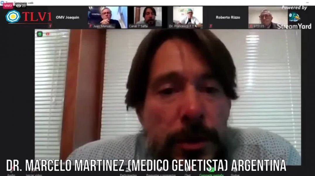 Dr. Marcelo Martinez (genetista) Argentino.