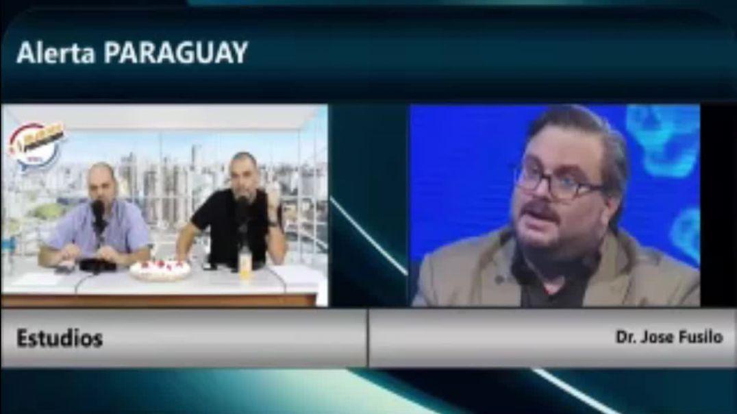 """RESPONSABLE DE SANIDAD EN PARAGUAY ABANDONA SIN ARGUMENTOS ENTREVISTA DE """"ALERTA RADIO PARAGUAY"""