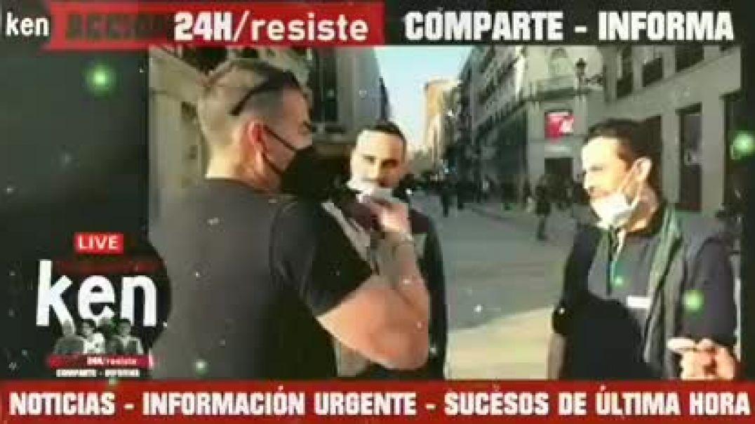ENTREVISTA REALIZADA EN LA CALLE SOBRE EL USO DE LA MASCARILLA EN ESPAÑA