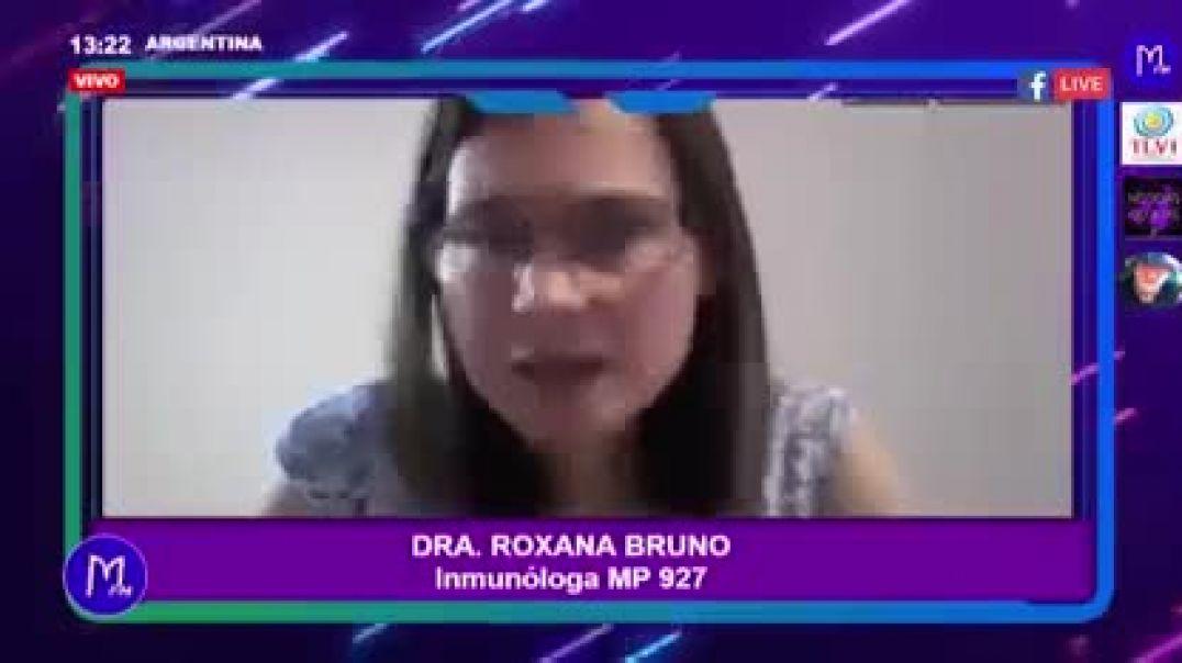 Inmunologa en contra de la vacuna para covid