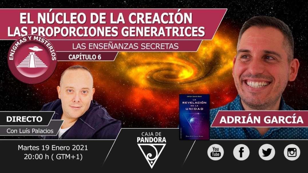 El Núcleo de la Creación, las proporciones generatrices con Adrián García & Luis Palacio