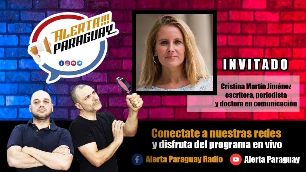 Entrevista con Cristina Martín Jiménez escritora, periodista y doctora en comunicación