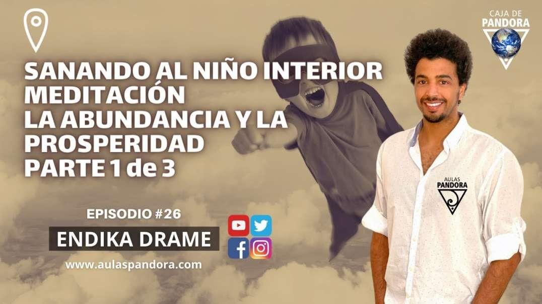 SANANDO AL NIÑO INTERIOR - MEDITACIÓN LA ABUNDANCIA - PARTE 1 de 3 con Endika Drame