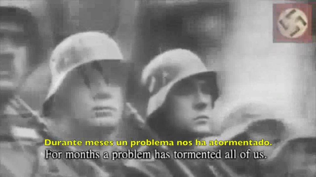 Adolf Hitler explica las razones para declarar la guerra a Polonia.