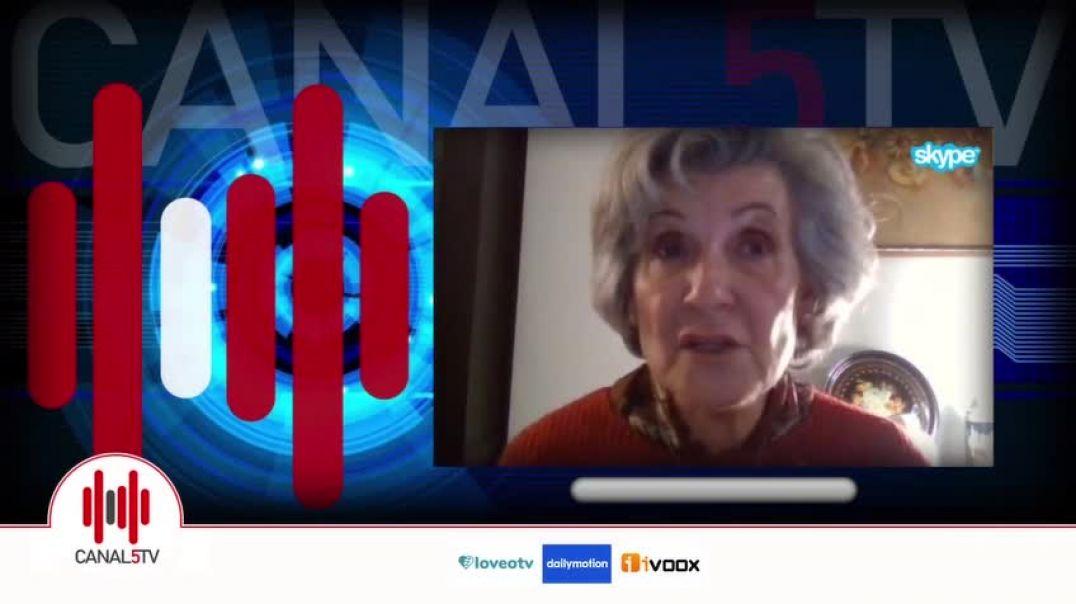 Catedrática M. José Albarracín en Canal 5TV. Espectaculares datos recogidos de Reino Unido.