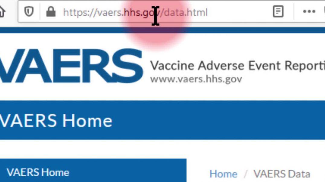 Cómo consultar estadísticas de reacciones adversas a vacuna Cov19 (EEUU)