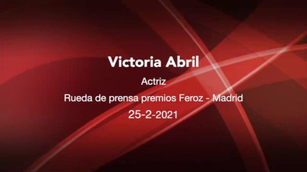 ENTREVISTA COMPLETA A VICTORIA ABRIL | FEROZ