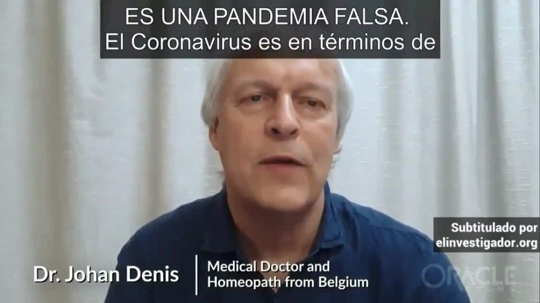 ⛔Dr. Johan Denis Medical and Homeopath of Belgium: NO HEALTH EMERGENCY !!