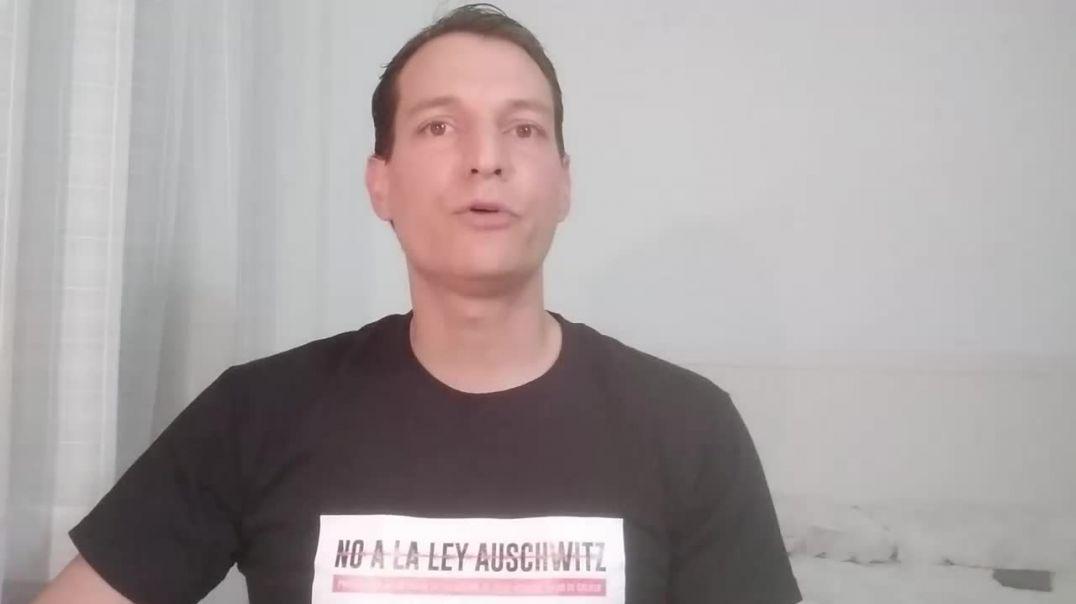 NO A LA LEY AUSCHWITZ   BOMBEROS POR LA VERDAD Y LA LIBERTAD