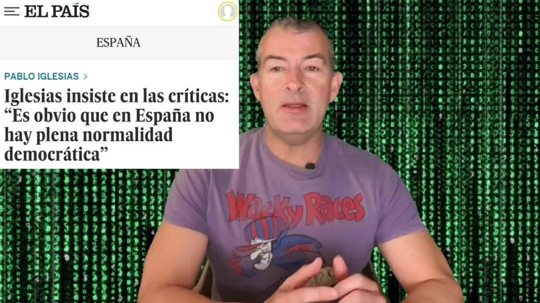 PABLO IGLESIAS CRITICA LA DEMOCRACIA en España