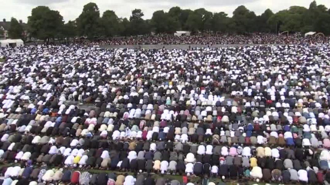 140.000 musulmanes se reunieron en  Birmingham.