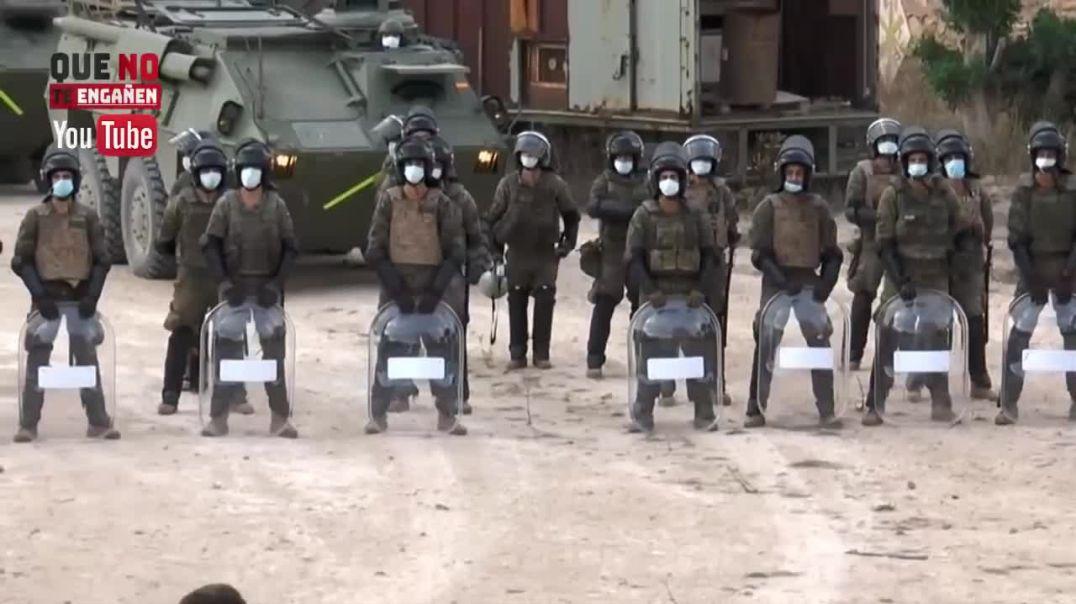 ¡PÁNICO EN PODEMOS! La Legión SE HARTA y COMIENZAN A PREPARARSE para INTERVENIR en LAS CALLES.