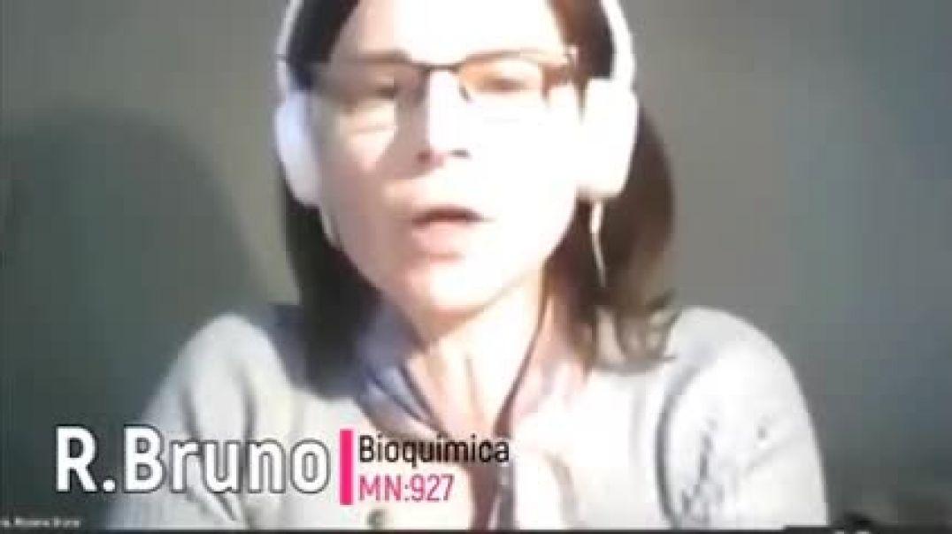 ✅ Dr.Bruno. Inmunóloga y bioquímica argentina - Los test PCR no funcionan. ✅