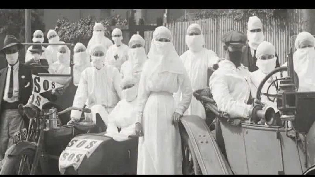 COVID 1918, mascarillas y pneumonías asesinas