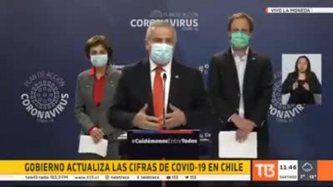 El Ministro de Salud de Chile reconoce el engaño