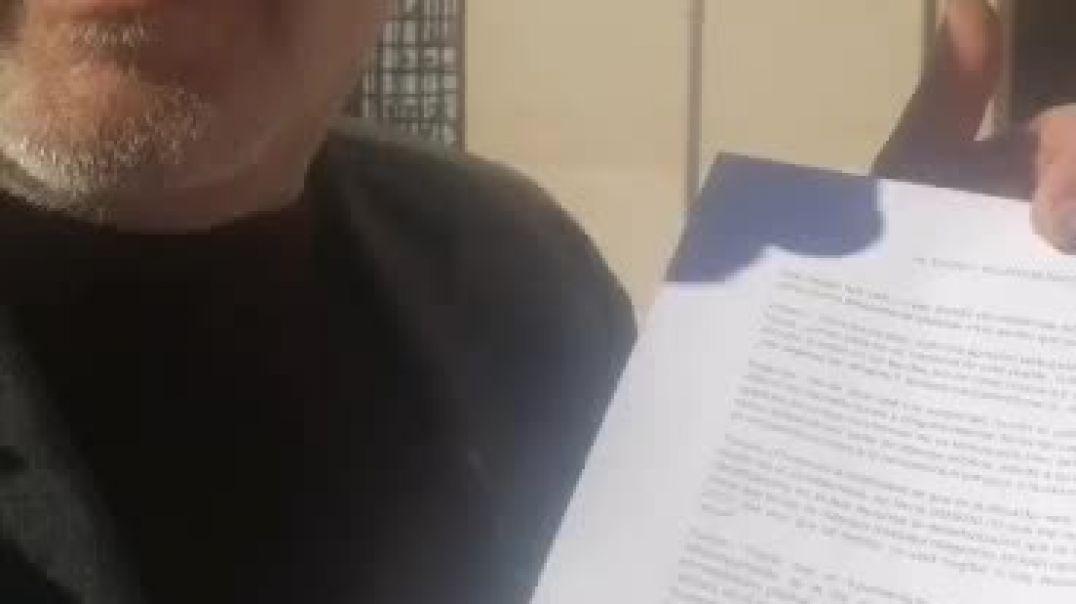 PRESENTO DOCUMENTO EN MI AYUNTAMIENTO PIDIENDO QUE SE INFORME DE LA NO OBLIGATORIEDAD DE MASCARILLA