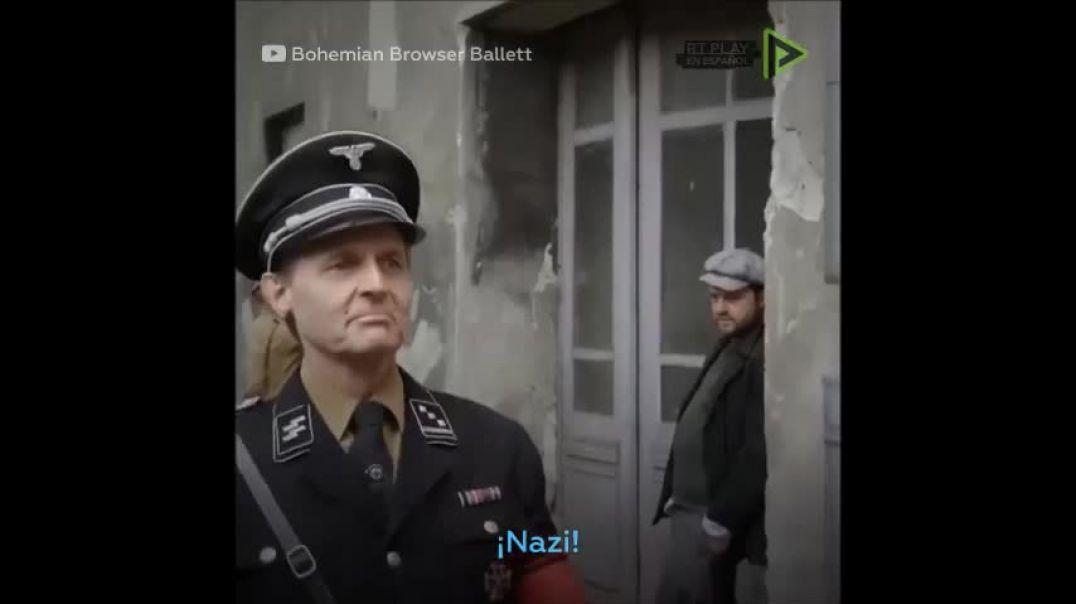 ¿Me ha llamado nazi?