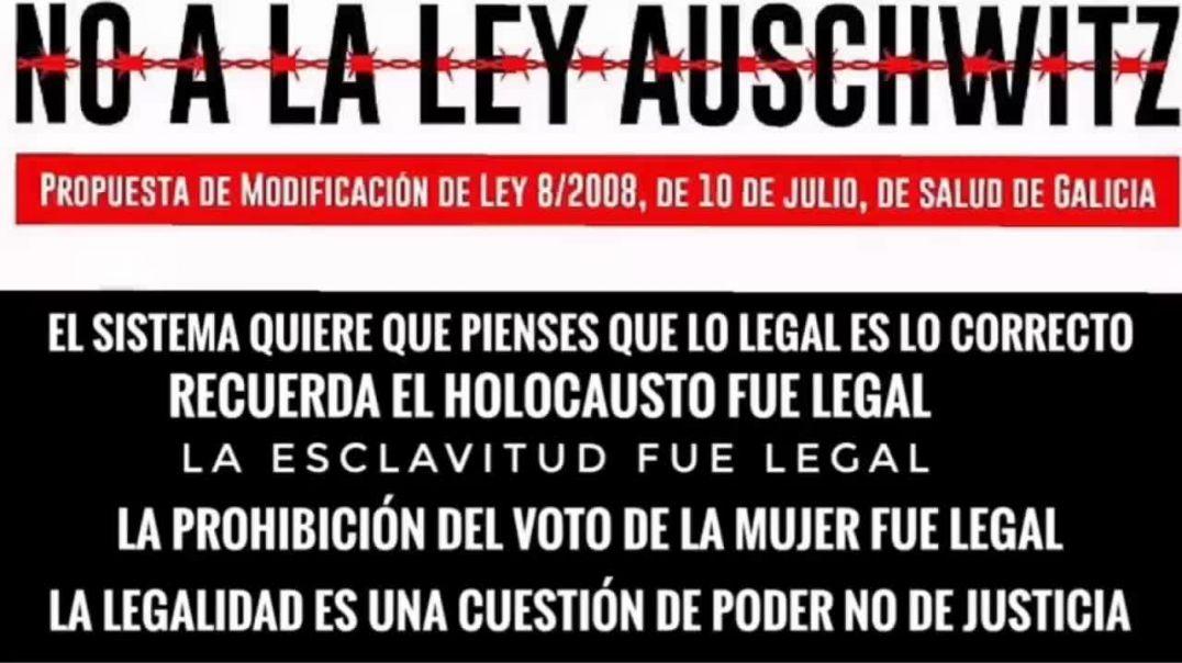 NO A LA LEY AUSCHWITZ | REFLEXIÓN DRA. NATALIA PREGO