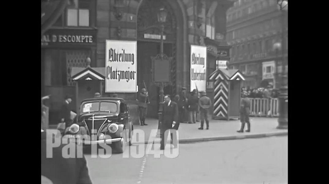 París bajo ocupación alemana en 1940.
