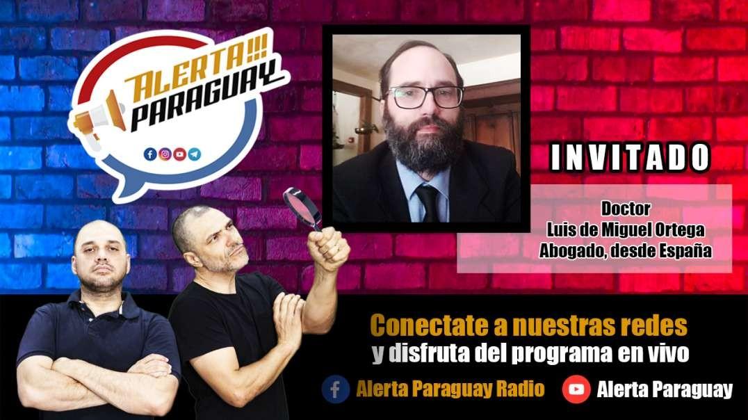 Entrevista con en el Abogado, Dr. Luis de Miguel Ortega.