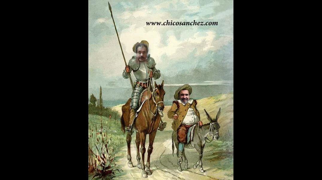Parte 4 - Quédate en casa. Las aventuras del último Quijote y su escudero Sánchez Panza