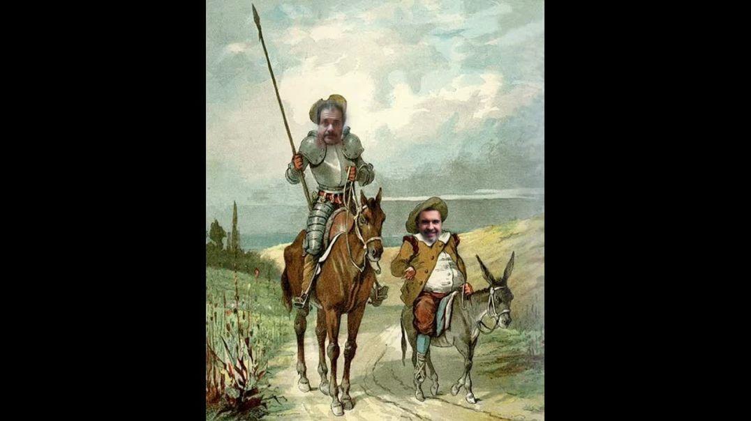 Parte 2 - La batalla del hidrogel - Las aventuras del último Quijote y su escudero Sánchez Panza