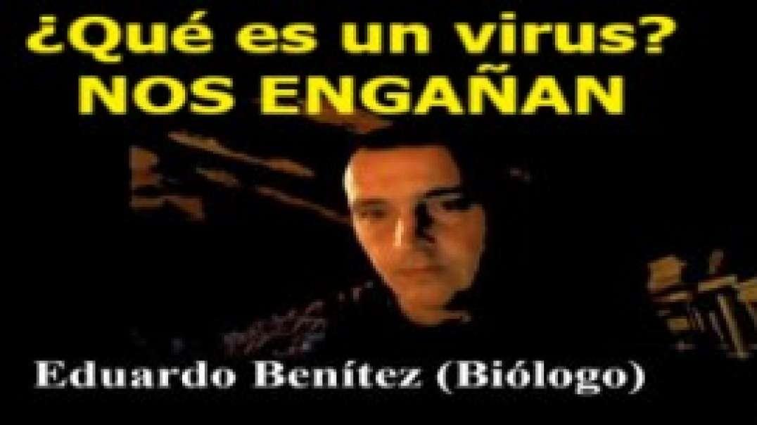 """BIOLOGO, EDUARDO BENITEZ: """"NO HAY NINGÚN VIRUS EN EL AIRE"""". NOS ESTAN MINTIENDO."""