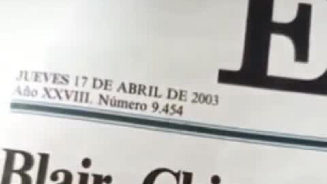 ⛔17 de Abril del 2003 - PRIMEROS INTENTOS PLANDEMICOS