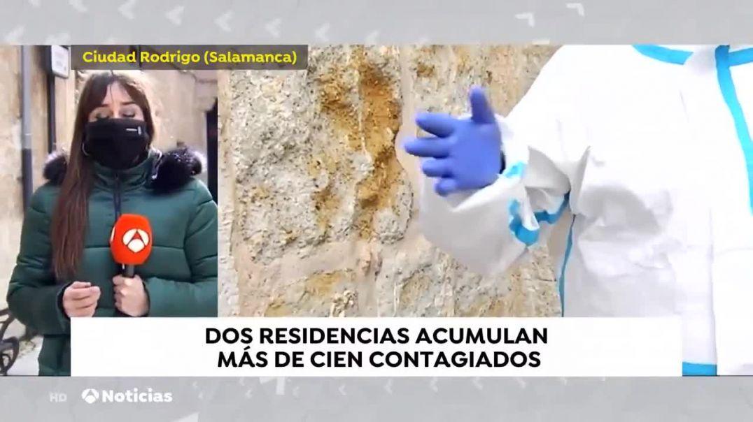 Antena3: muertos y contagiados por Covid en residencias de ancianos suceden al poco de ser vacunos.