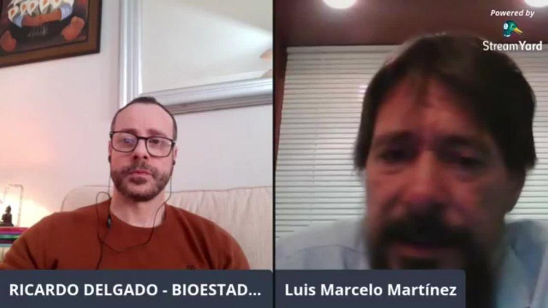 Luis Marcelo Martinez ( Genetista Argentino) PARTE 3 : EL MIEDO VS LA SOBERANIA Y LIBERTAD