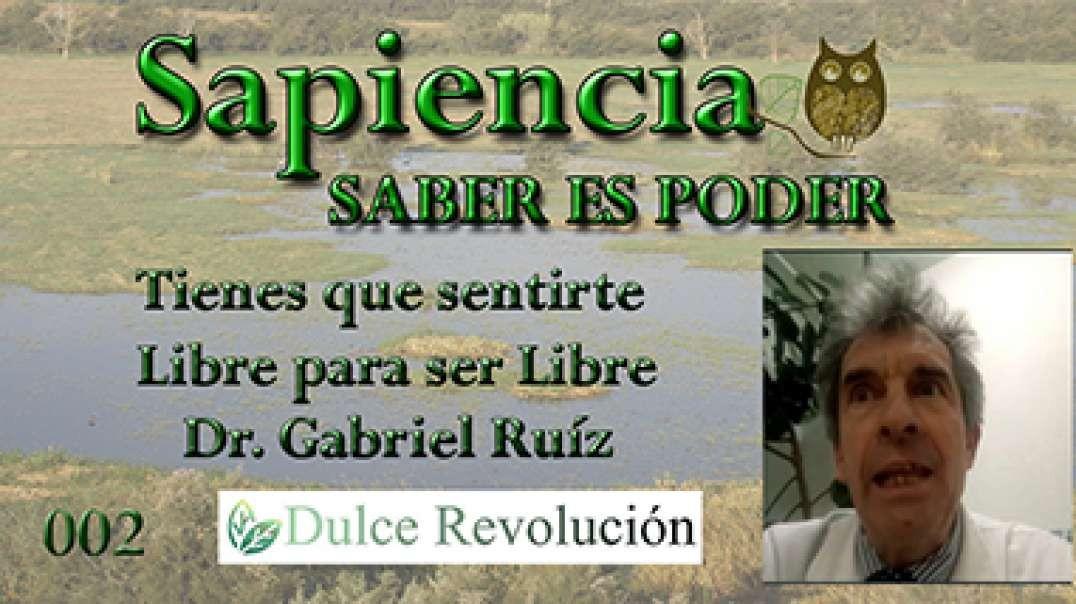 Tienes que sentirte Libre para ser Libre - Dr. Gabriel Ruiz (Sin Mascarilla).