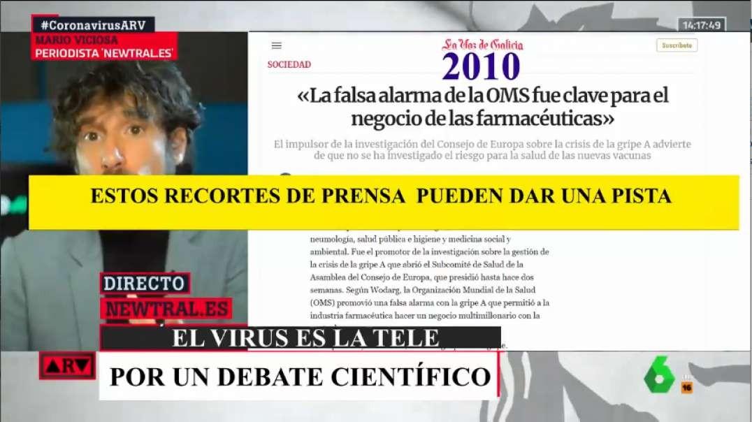 Al Rojo Vivo - Médico Hospital de Ourense tacha de experimento genético la vacuna contra el COVID