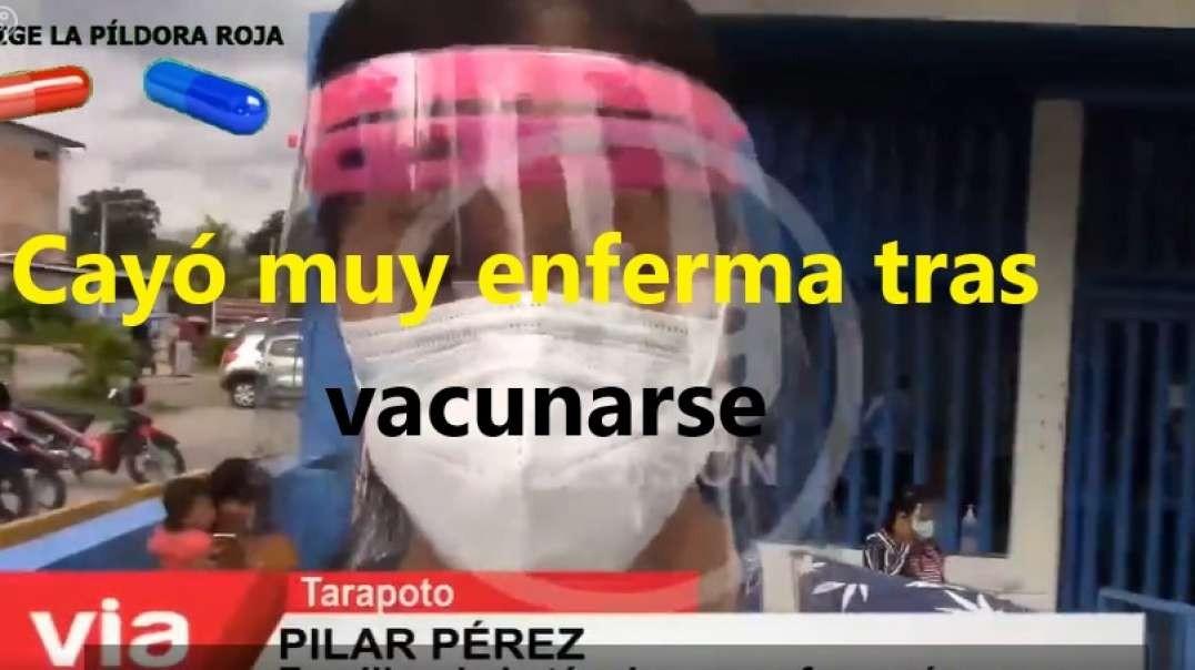 SANITARIA CAE GRAVEMENTE ENFERMA TRAS SER VACUNADA.
