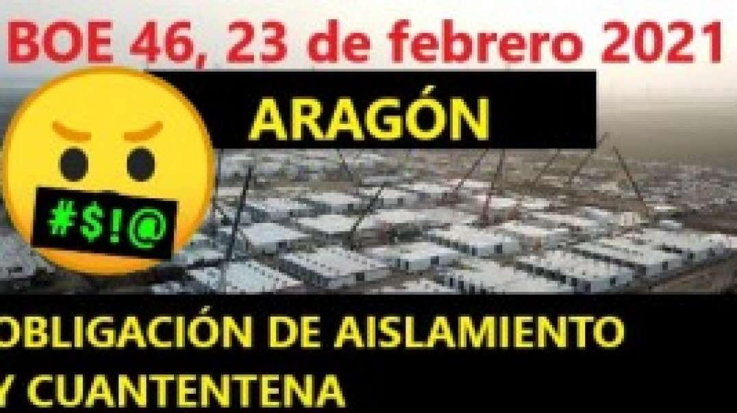 """CAMPOS DE AISLAMIENTO COVID EN ARAGÓN. LOS """"SOSPECHOSOS"""" TAMBIÉN ENTRARAN A LA FUERZA."""