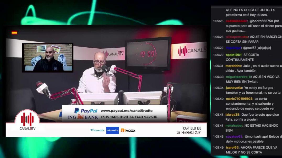 26_02_2021 Canal 5 TV Programa 188