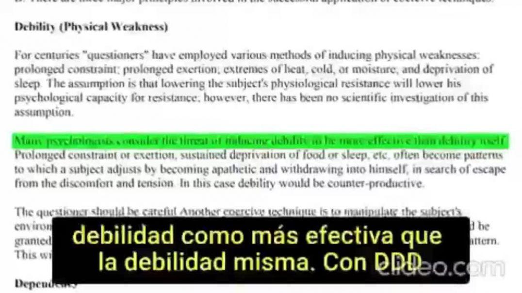LA TÉCNICA DDD | TABLA DE COERCIÓN DE BIDERMAN