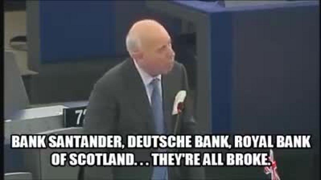 """""""El problema se terminará cuando encarcelemos a directores de bancos centrales y políticos"""""""