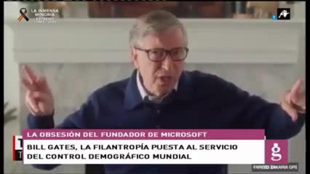 Bill Gates. La filantropía puesta al servicio del control demográfico mundial.