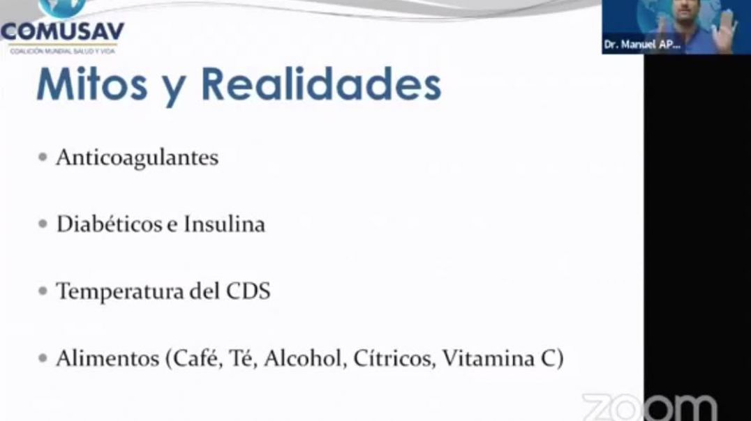 Dióxido de Cloro (oxidante)  y vitamina C (antioxidante) no tomar juntos.