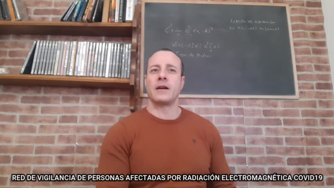 RED DE VIGILANCIA AFECTADOS POR RADIACIÓN ELECTROMAGNÉTICA COVID19 | DEJA TU TESTIMONIO EN EL CANAL