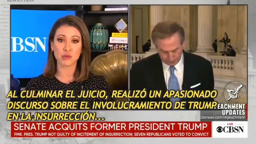 Entrevista al abogado de Trump, Michael Van Der Veen en la CBS tras ganar el Impeachment (Sub.Esp).