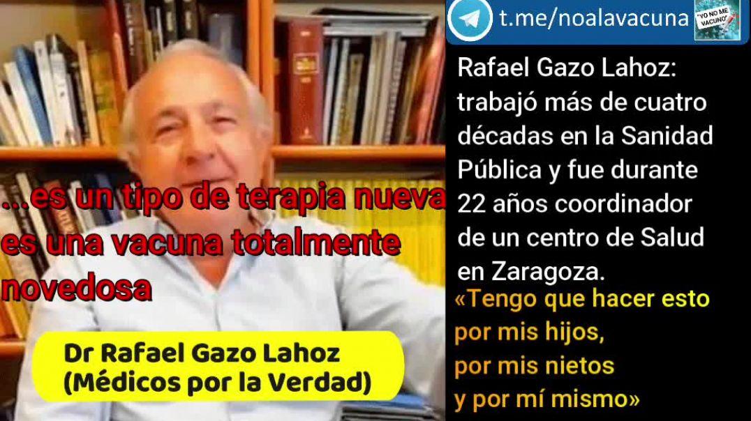 Rafael Gazo Lahoz: YO NO ME VACUNO.