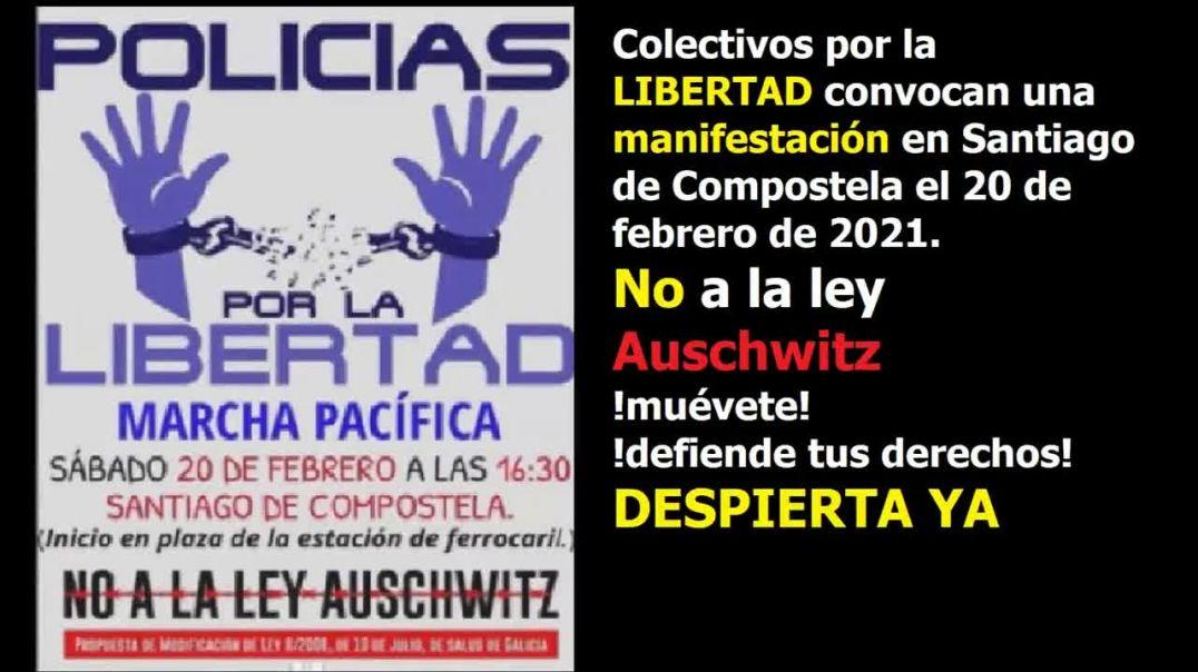 Colectivos por la verdad convocan manifestacion en 20-02-2021 No a la Ley Auchwitz